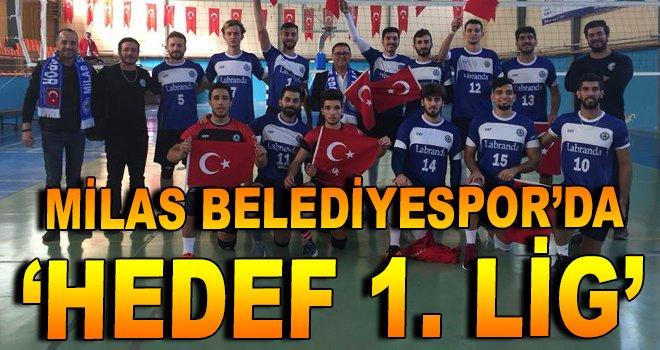 Milas Belediyespor'da 'Hedef 1. Lig''