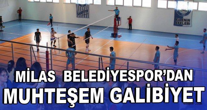 Milas Belediyespor'dan muhteşem galibiyet!