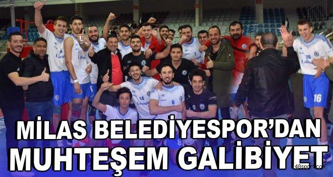 Milas Belediyespor'dan muhteşem galibiyet