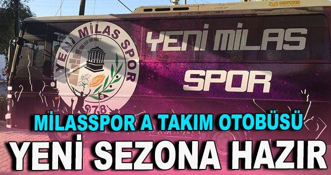 Milasspor A takım otobüsü yeni sezona hazır