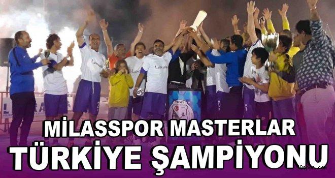 Milasspor Masterlar Türkiye Şampiyonu!