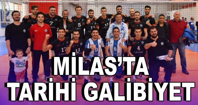 Milas'ta tarihi galibiyet!