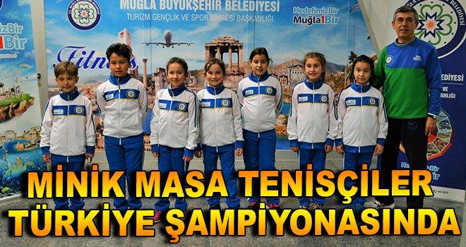 Minik Masa Tenisçiler Türkiye Şampiyonası'nda