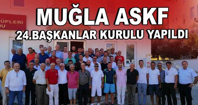 Muğla Askf 24'üncü Başkanlar Kurulu yapıldı