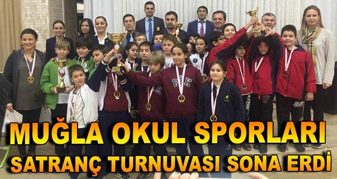 Muğla Okul Sporları Satranç Turnuvası Sona Erdi