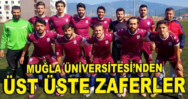 Muğla Üniversitesi'nden üst üste zaferler