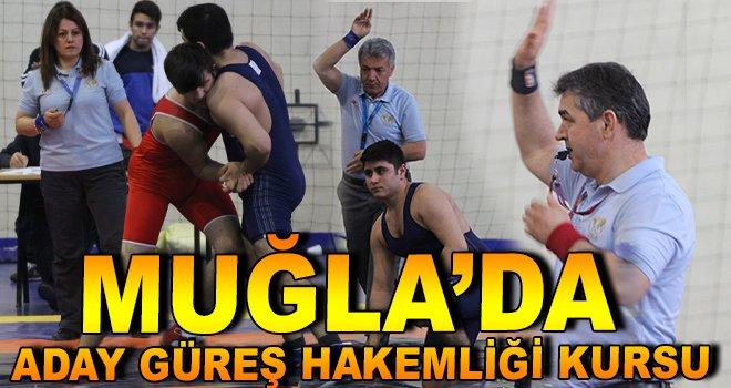 Muğla'da Güreş Aday Hakemliği Kursu Açılacak