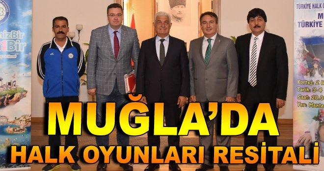 Muğla'da Halk Oyunları Resitali