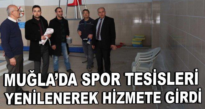 Muğla'da spor tesisleri yenilenerek hizmete girdi