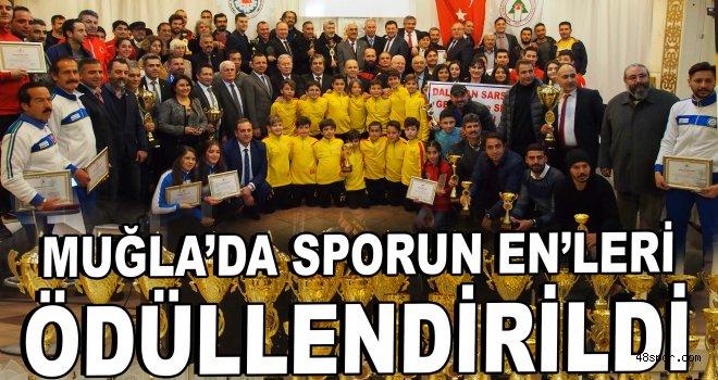 Muğla'da sporun EN'leri ödüllendirildi