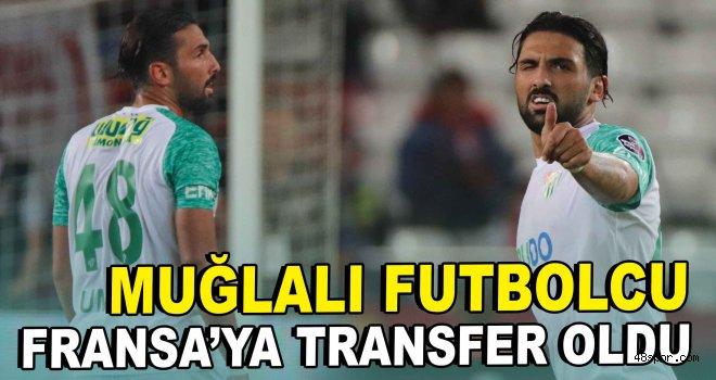 Muğlalı futbolcu Fransa'ya transfer oldu!