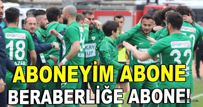 Muğlaspor'da beraberlik serisi!