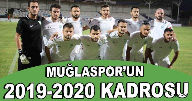 Muğlaspor'un 2019-2020 kadrosu