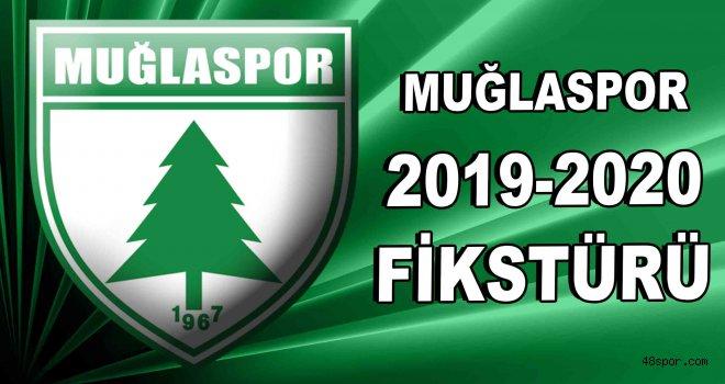 Muğlaspor'un 2019-2020 sezonu ilk yarı fikstürü