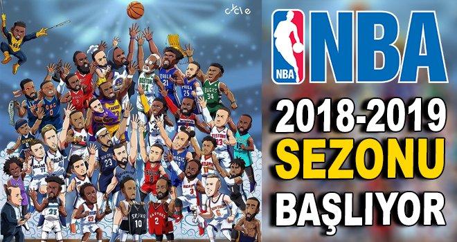 NBA 2018-2019 sezonu başlıyor!