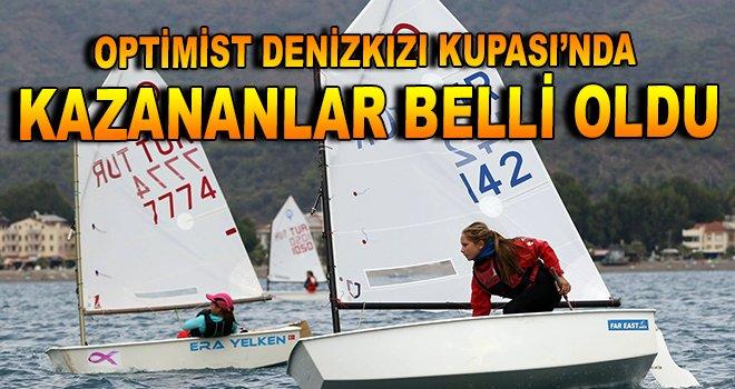 Optimist Denizkızı Kupası'nda kazananlar belli oldu