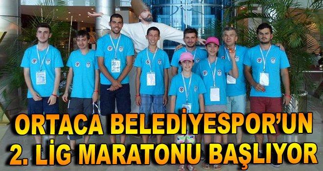 Ortaca Belediyespor'un 2. Lig Maratonu Başlıyor