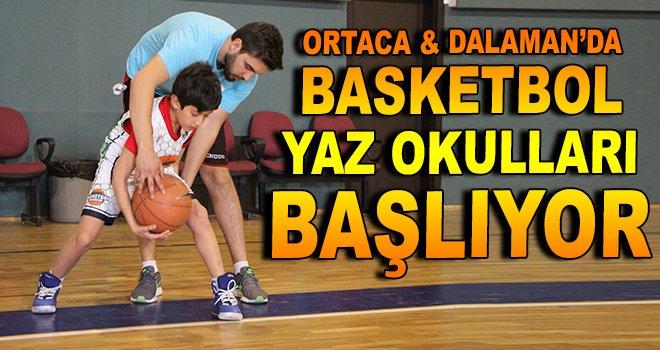 Ortaca ve Dalaman'da basketbol yaz okulları başlıyor