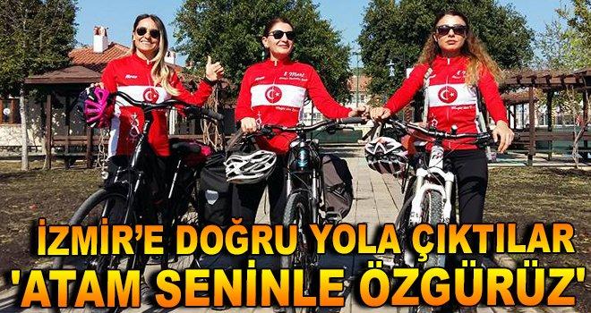Ortaca'dan İzmir'e Doğru Pedalladılar