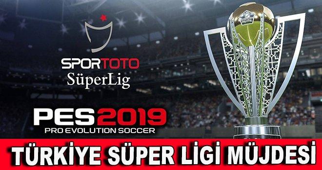PES 2019'dan Türkiye Süper Ligi müjdesi