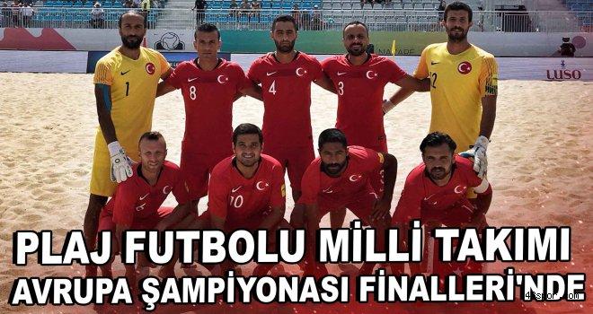 Plaj Futbolu Milli Takımı, Avrupa Şampiyonası Finalleri'nde
