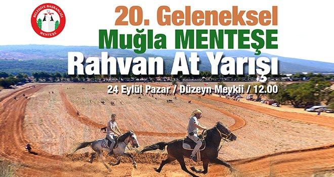 Rahvan atlar Menteşe'de yarışacak