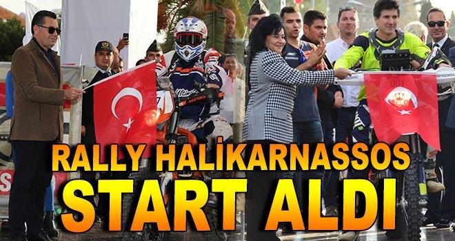 ''Rally Halikarnassos'' heyecanı başladı