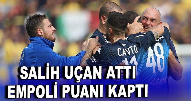 Salih Uçan attı, Empoli puanı kaptı