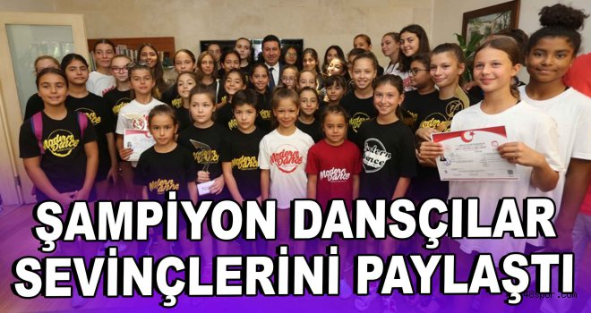 ''Şampiyon Dansçılar'' sevinçlerini paylaştı