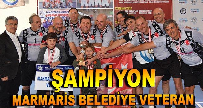 Şampiyon: Marmaris Belediye Veteran