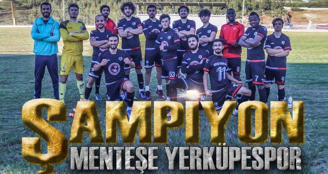 Şampiyon Menteşe Yerküpespor
