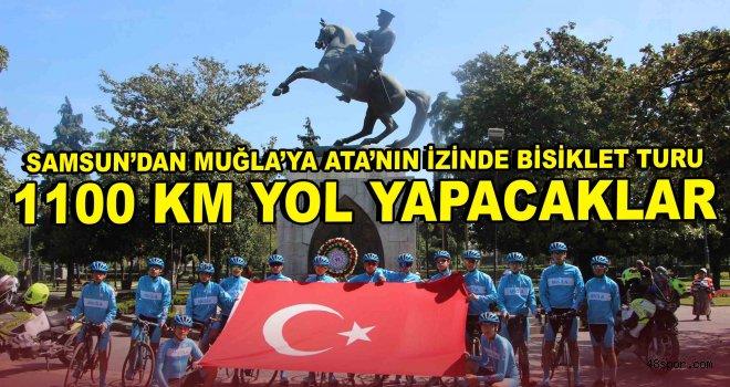 Samsun'dan Muğla'ya Ata'nın İzinde Bisiklet Turu