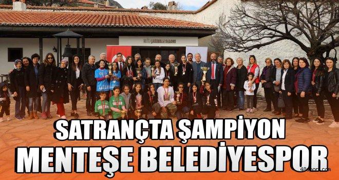 Satrançta şampiyon Menteşe Belediyespor