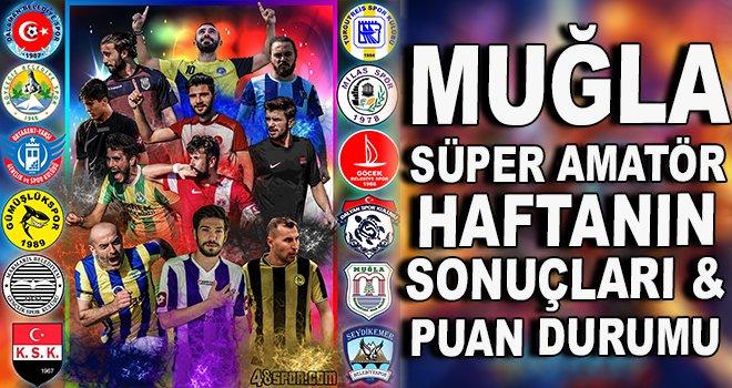 Süper Amatör Lig haftanın sonuçları & puan durumu