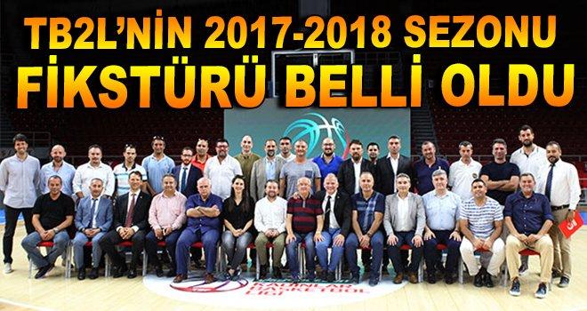 TB2L'nin 2017-2018 Sezonu Fikstürü Belli Oldu