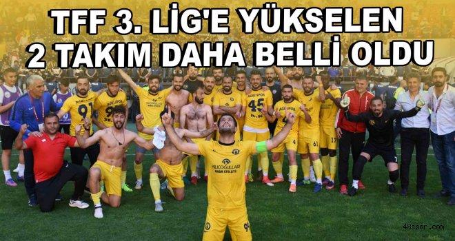 TFF 3. Lig'e yükselen 2 takım daha belli oldu