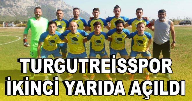 Turgutreisspor ikinci yarıda açıldı