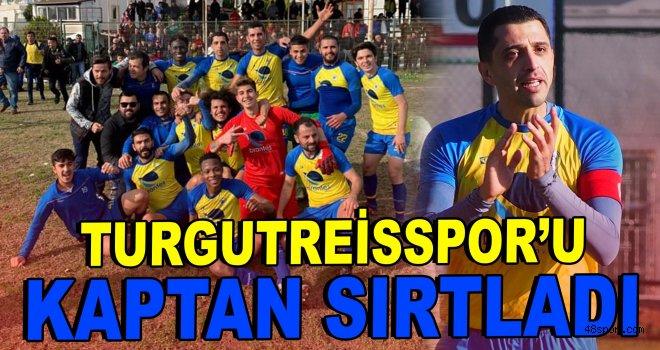 Turgutreisspor'u kaptanı sırtladı