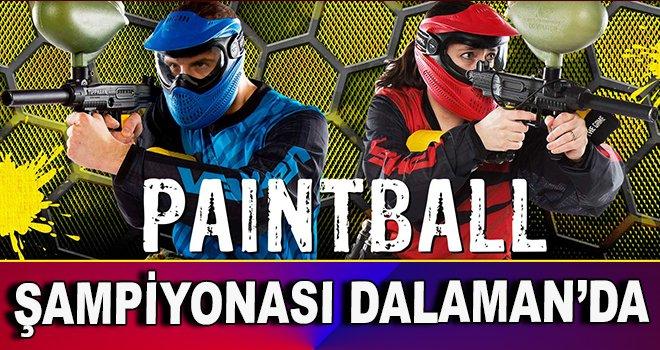 Türkiye Paintball Şampiyonası Dalaman'da