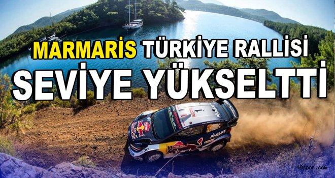 Türkiye Rallisi seviye yükseltti!