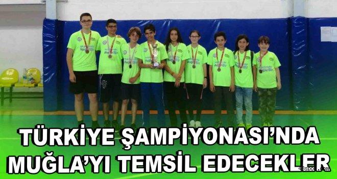 Türkiye Şampiyonası'nda Muğla'yı temsil edecekler