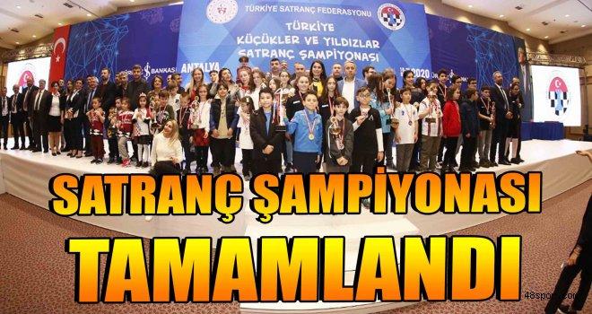 Türkiye Satranç Şampiyonası tamamlandı