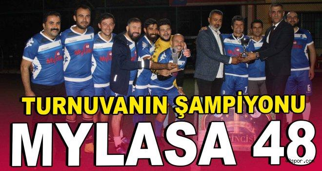 Turnuvanın şampiyonu Mylasa 48
