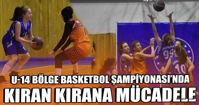 U-14 Bölge Basketbol Şampiyonası başladı
