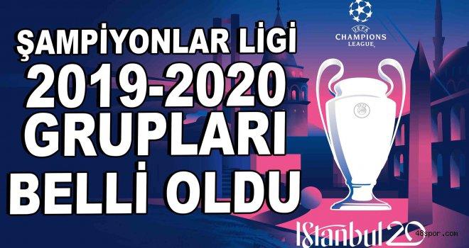 UEFA Şampiyonlar Ligi 2019-2020 sezonu grupları belli oldu