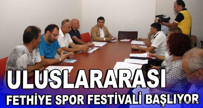 Uluslararası Fethiye Spor Festivali başlıyor