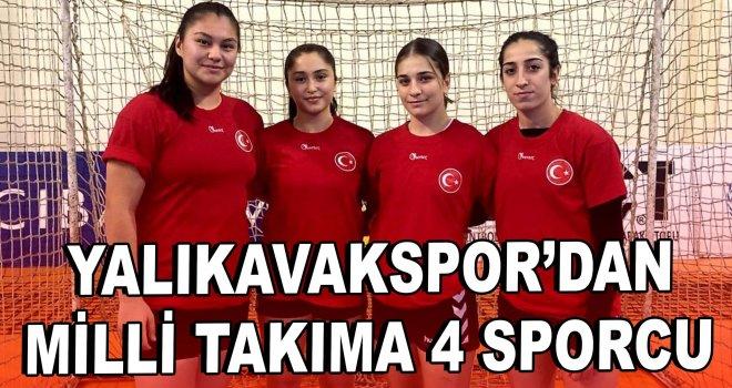 Yalıkavakspor'dan Milli Takıma 4 sporcu