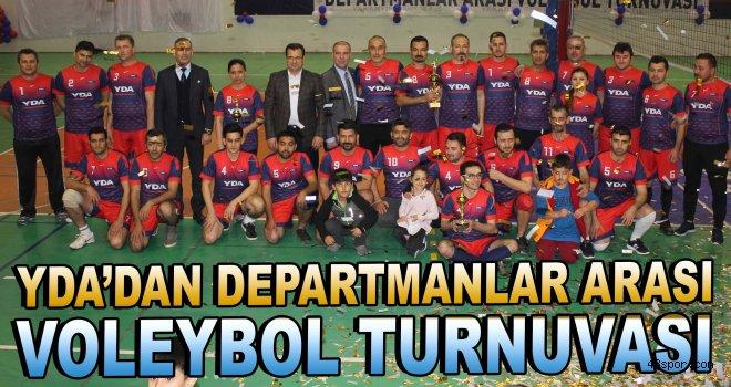 YDA'dan departmanlar arası voleybol turnuvası