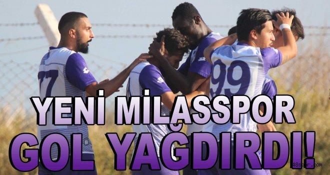 Yeni Milasspor gol yağdırdı