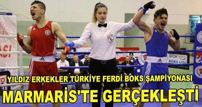 Yıldız Erkekler Türkiye Ferdi Boks Şampiyonası Marmaris'te gerçekleşti